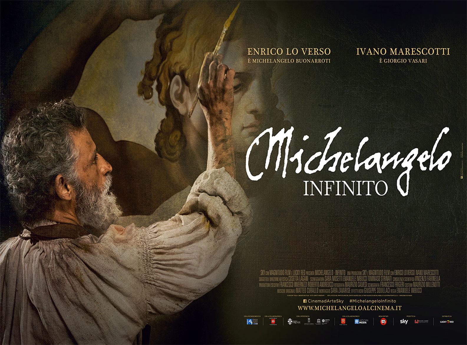 """PROIEZIONE FILM """"MICHELANGELO - INFINITO"""""""