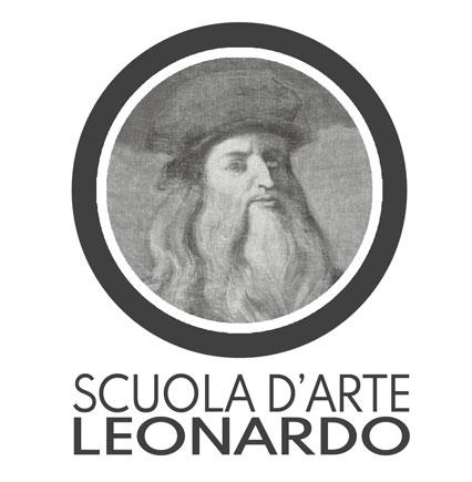Logo scuola d'arte Leonardo